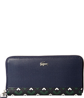 Lacoste - Madly Pique Zip Continental Wallet