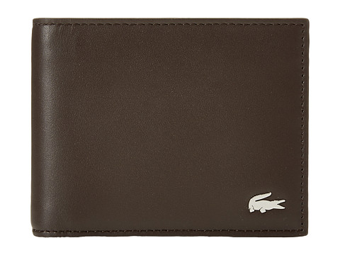 Lacoste FG Small Billfold Key Ring - Dark Brown