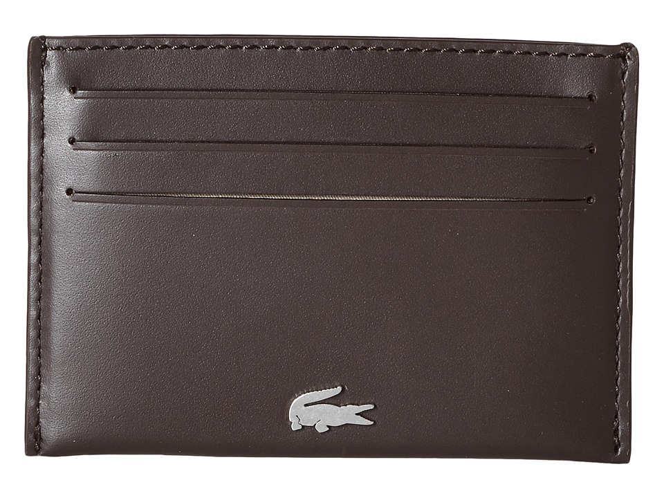 Lacoste - FG Credit Card Holder (Dark Brown) Credit card Wallet