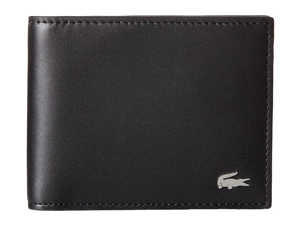 Lacoste - FG Small Billfold Key Ring (Black) Bill-fold Wallet