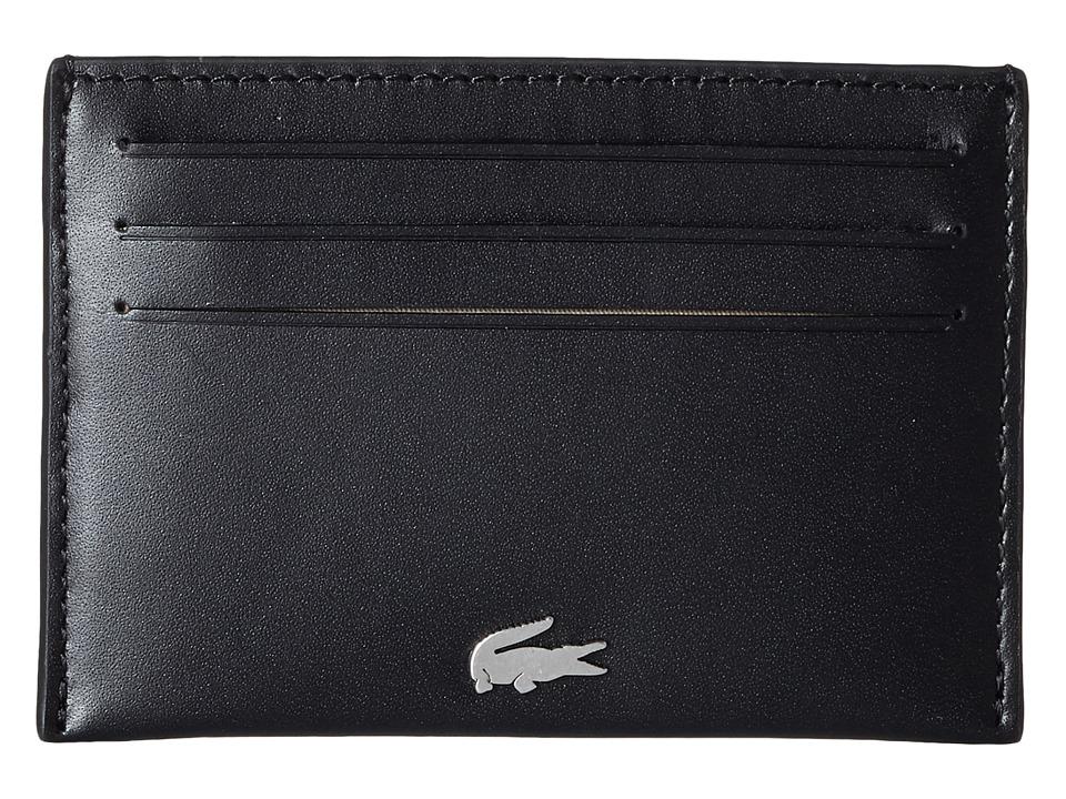 Lacoste - FG Credit Card Holder (Black) Credit card Wallet