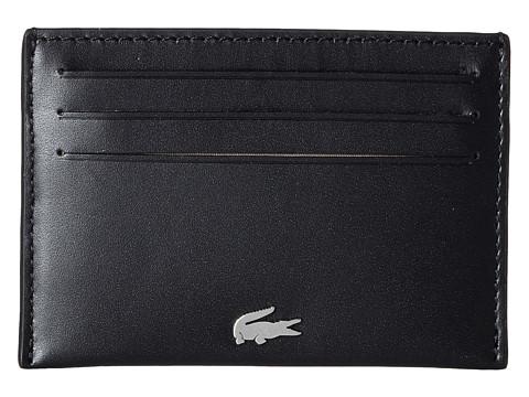 Lacoste FG Credit Card Holder - Black