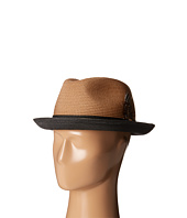 Stacy Adams - Polybraid Fedora with Two-Tone Band