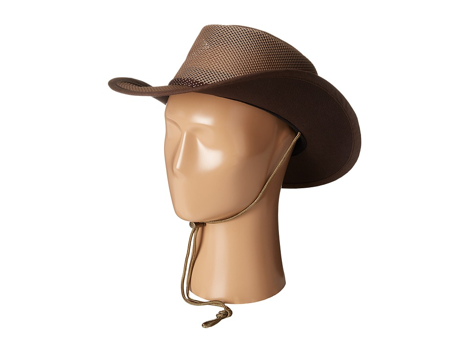 Stetson - Mesh Covered Safari with Chin Cord