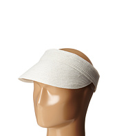 SCALA - Paper Braid Visor with Velcro Back