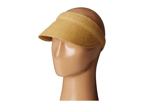 SCALA Paper Braid Visor - Toast