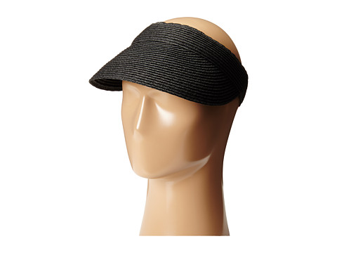 SCALA Paper Braid Visor - Black