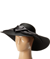 SCALA - Polybraid Big Brim Sun Hat with Satin Bow