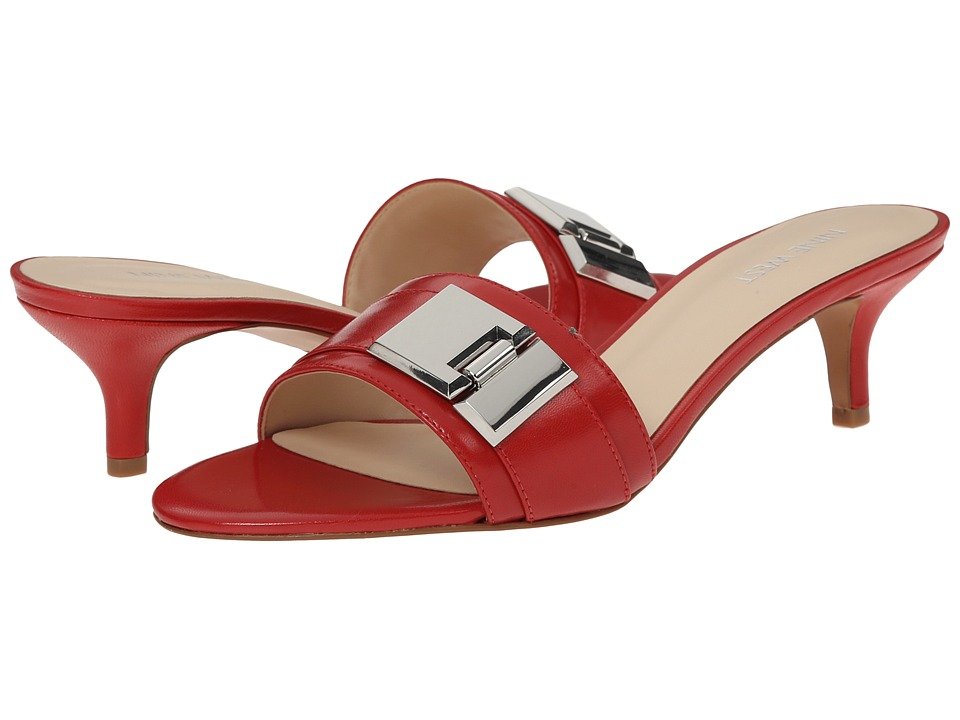 Nine West - Yulenia (Red Leather) Women's Sandals