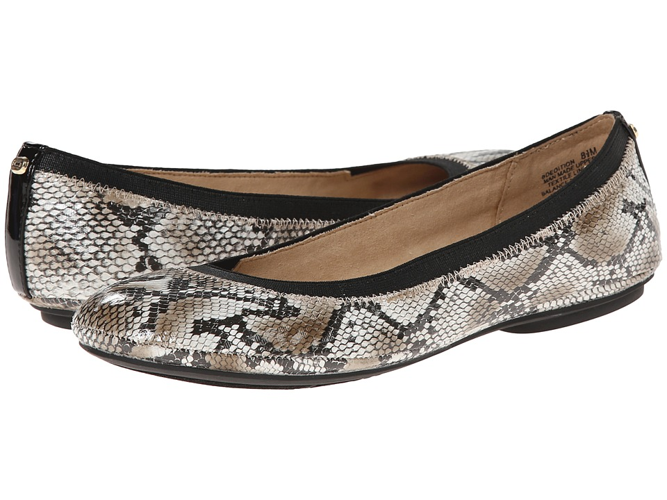 Bandolino Edition Snake Womens Flat Shoes