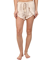 Free People - Sensual Satin Cascading Petal Shorts