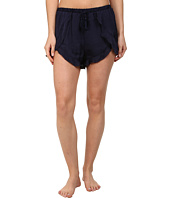 Free People - Sensual Satin Cascading Petal Shorts