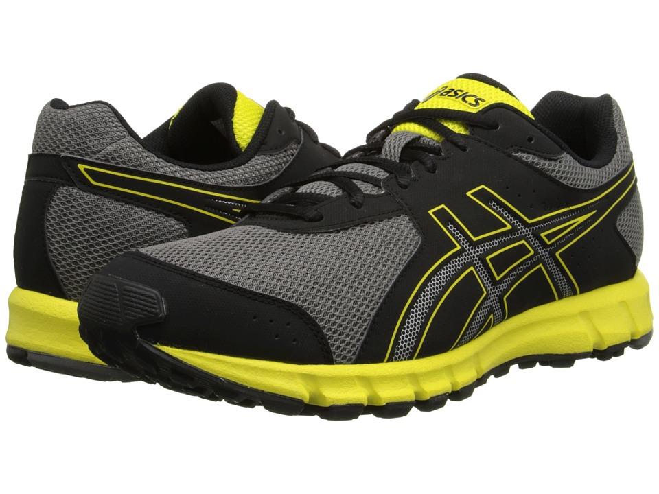 ASICS - Matchplay 2 (Black/Sun/Charcoal) Mens Golf Shoes