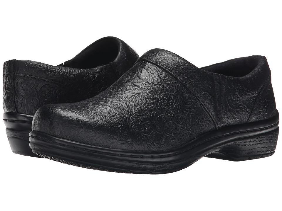 Klogs Footwear - Mission (Black Tooled) Women's Clog Shoes