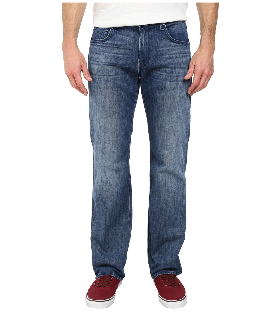 7 For All Mankind Austyn Relaxed Straight Leg in Nakkitta Blue (Nakkitta Blue) Men