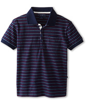 Toobydoo - Pin Stripe Polo Shirt (Little Kids/Big Kids)