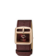 COACH - Duffle Buckle 30mm Leather Strap Watch