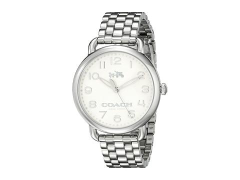 COACH Delancey 36mm Bracelet Watch - Chalk/Stainless Steel