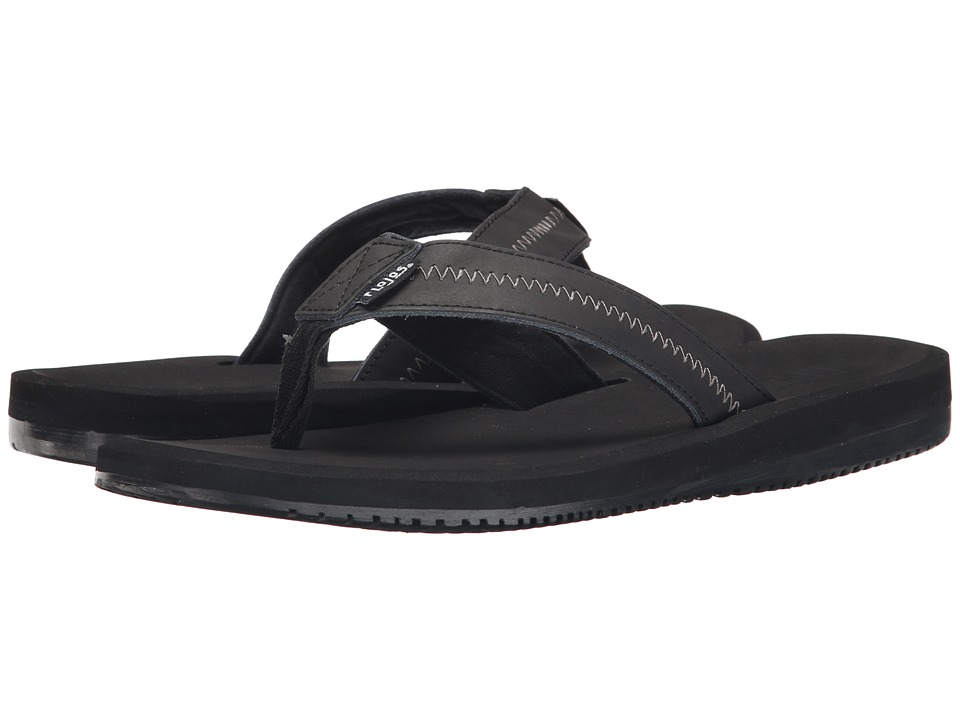 Flojos - Logan (Black) Men's Sandals
