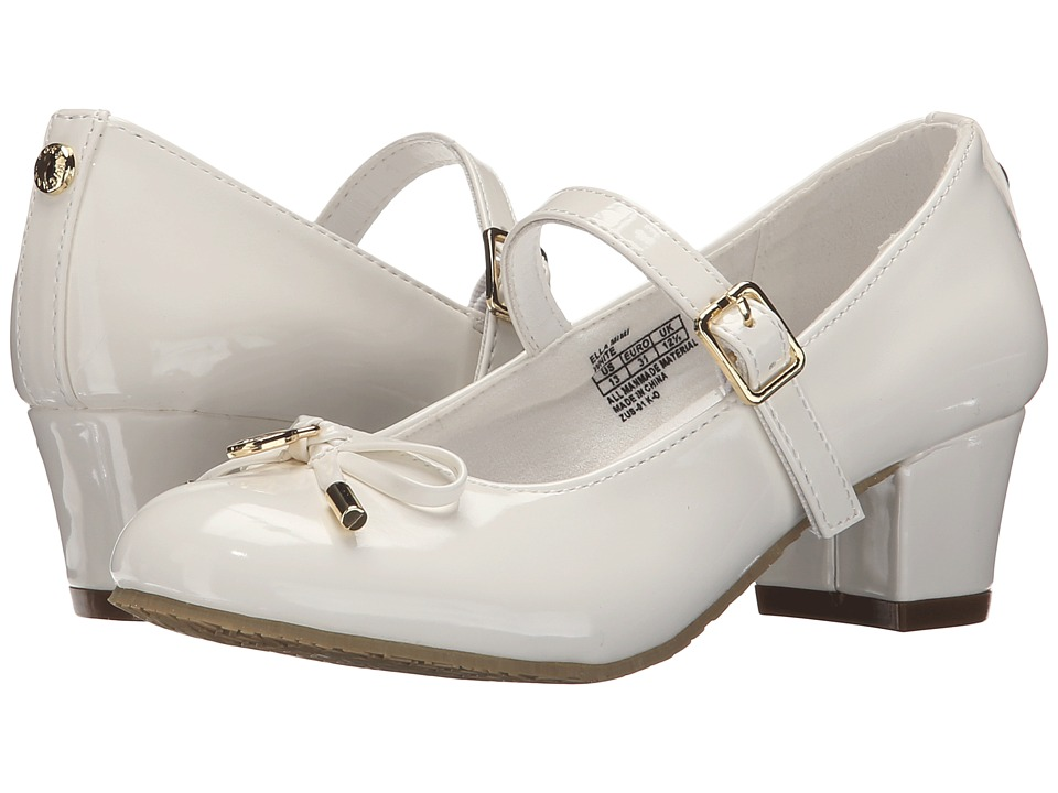 MICHAEL Michael Kors Kids Ella Mimi Little Kid/Big Kid White Girls Shoes