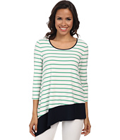 Jones New York - Stripe Asymmetric Top