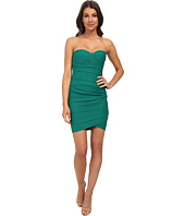 BCBGMAXAZRIA - Madge Strapless Ruched Cocktail Dress