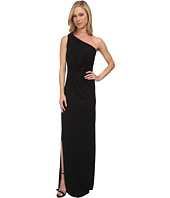 BCBGMAXAZRIA - Petite Snejana One Shoulder Long Dress