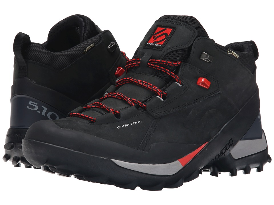 Five Ten Camp Four Mid GTX Black/Red Mens Shoes