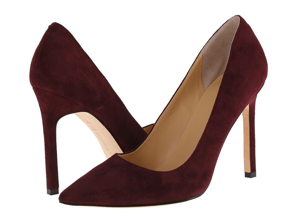 Ivanka Trump Carra (Dark Wine Suede) High Heels