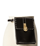 MICHAEL Michael Kors - Hamilton Lock Leather Belt Bag with 13mm Leather Strap and Contrast Stitch with Snap Closure