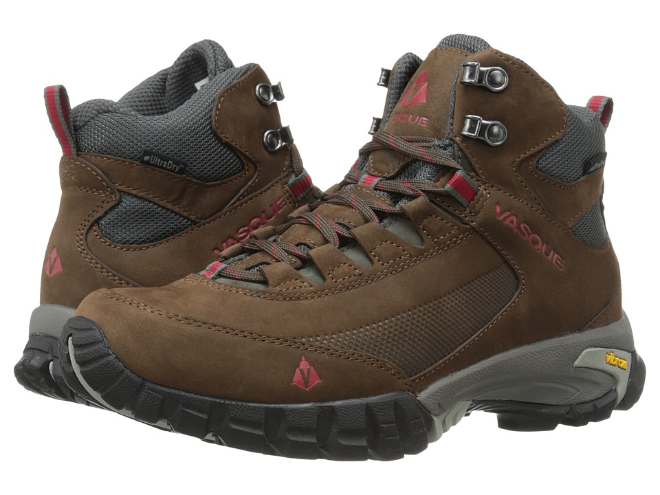 Vasque - Talus Trek UltraDry (Slate Brown/Chili Pepper) Men