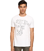Versace Collection - Studded Medusa T-Shirt