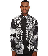 Versace Collection - Baroque Graffiti Silk Shirt