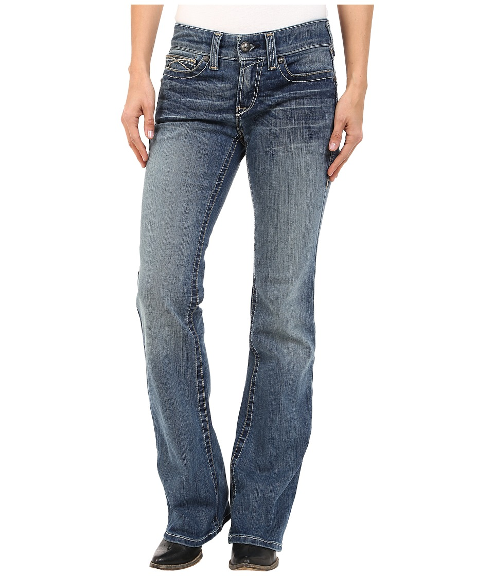 Ariat R.E.A.L.tm Riding Jeans Whipstitch in Rainstorm (Rainstorm) Women