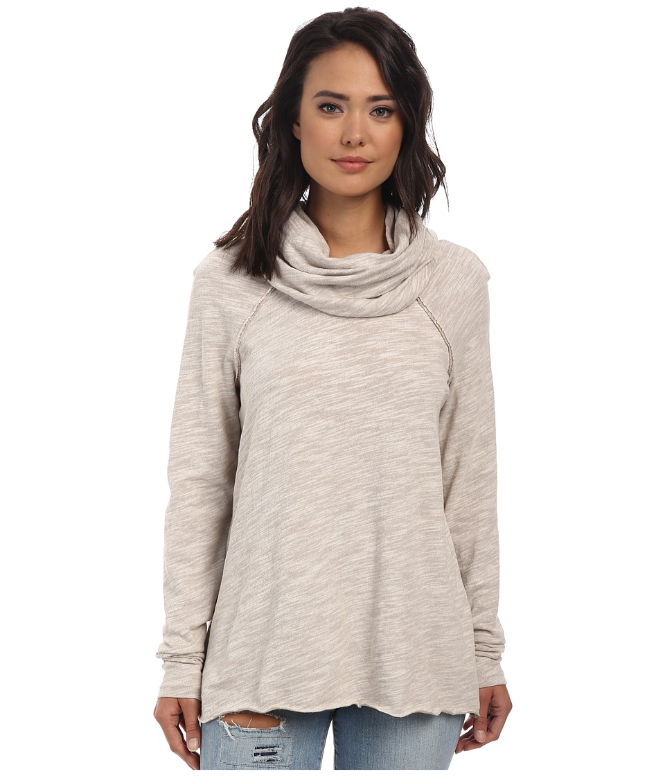 Free People Cocoon Cowl Pullover Oatmeal Womens Long Sleeve Pullover