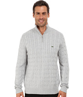 Lacoste - Cable 1/4 Zip Cotton Sweater
