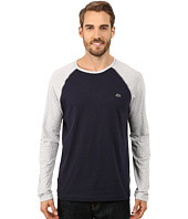 Lacoste - Color Block Baseball Jersey Tee Shirt