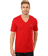 Lacoste - L!ve Short Sleeve V-Neck Tee Shirt