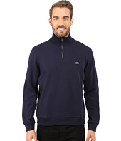 Lacoste - Light Weight Fleece 1/4 Zip Sweatshirt