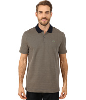Lacoste - L!ve Short Sleeve Graphic Jacquard Polo