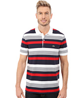 Lacoste - Short Sleeve Pique Stripe Polo