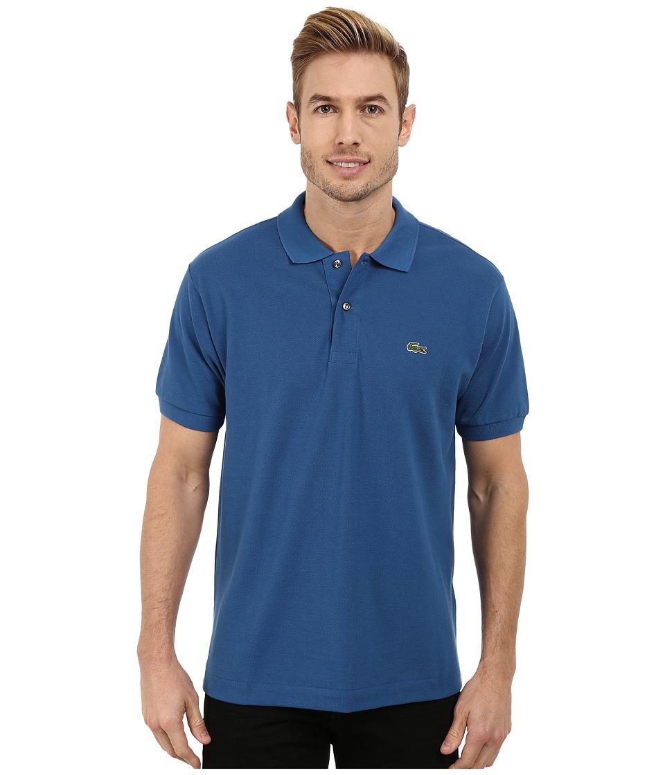 Lacoste - L1212 Classic Pique Polo Shirt (Officer Blue) Men
