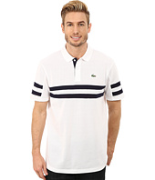 Lacoste - Sport Golf Short Sleeve Engraved Sleeve and Chest Stripe Polo