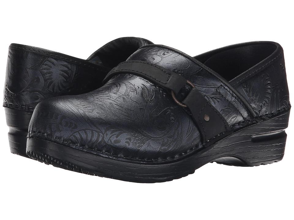 Sanita - Texas (Black Printed Leather) Women