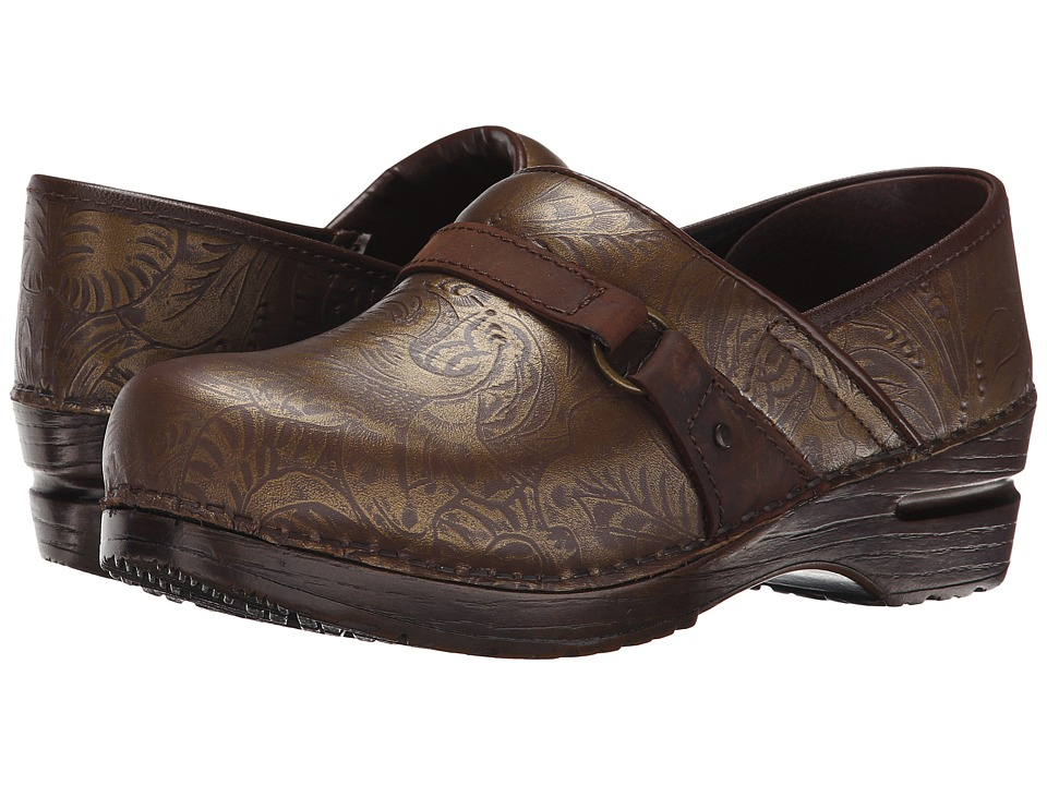 Sanita - Texas (Dark Brown Printed Leather) Women