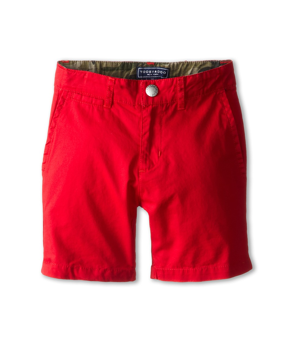 Toobydoo Chino Shorts Toddler/Little Kids/Big Kids Red 1 Boys Shorts
