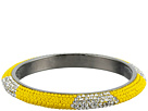 Gypsy SOULE Bling Mix Stack Bangle Wide (Yellow)