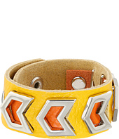 Gypsy SOULE - Leather Arrow Cutout Bracelet