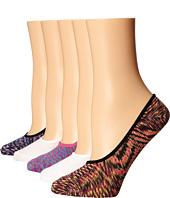 Steve Madden - 5-Pack Space Dye Footie