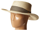 Tommy Bahama - Palm Fiber Gambler with 3 Pleat Cotton Band